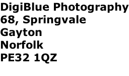 DigiBlue Photography 68, Springvale  Gayton Norfolk PE32 1QZ
